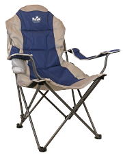 Royal Adjustable Camping Chair (Blue)